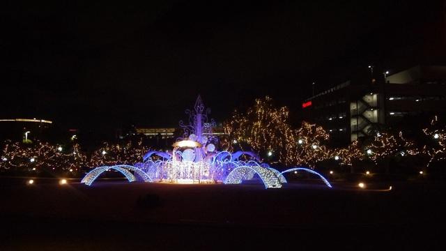 ホテルオークラ東京ベイ 噴水.jpg